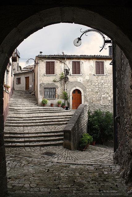 Morcone, Benevento, Campania - where my mumma grew up! One day you'll take me there mummy, one day!