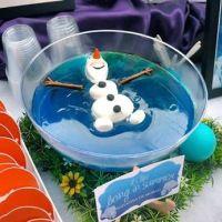 Original idea para comida|aperitivo de una fiesta de cumpleaños Frozen. Tus invitados se quedarán de hielo