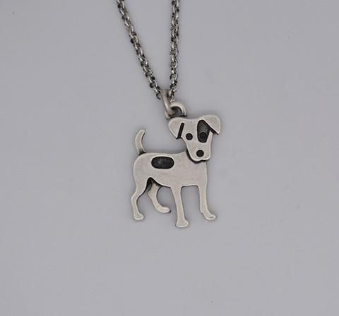 Bohemia Vintage Jack Russell Terrier Necklace Colar Boho Dog Choker NecKlaces