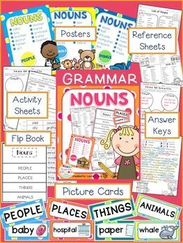 Understanding nouns will help students become more proficient with their grammar skills. These engaging activities will enable students to practice identifying nouns in a meaningful way.