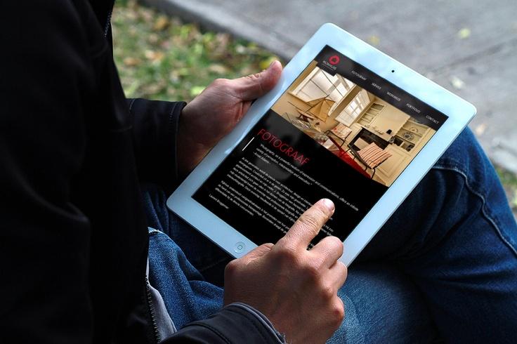 Responsive design tablet kijkhuis.be
