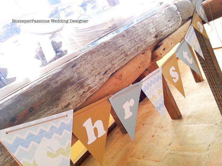 Dettaglio Sweet Table, Banner
