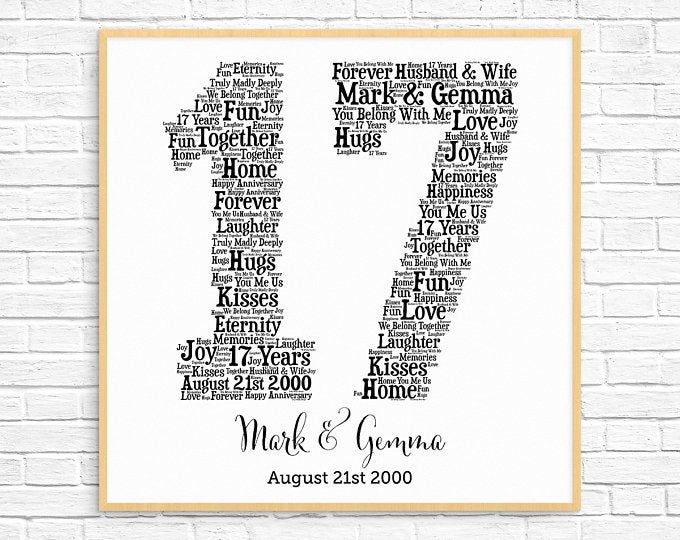 Personalized 17th Birthday Newspaper 17th Birthday Gift Idea Etsy In 2020 17th Anniversary Gifts Unique Anniversary Gifts 17th Birthday Gifts