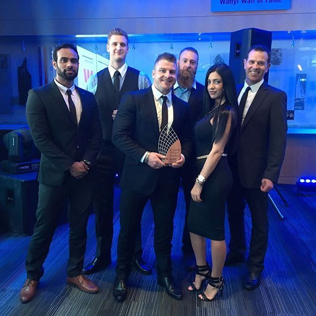 WE WON! 😁🙌🏼 Best Emerging Business at the Westpac Business Awards! Thank you to  everyone who has been apart of this! #TeamJRF #JosefRakichFitness