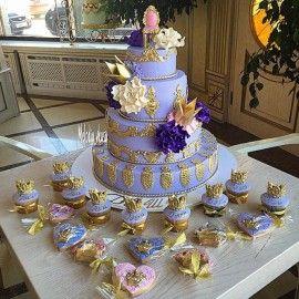 Детский торт Коронный стул