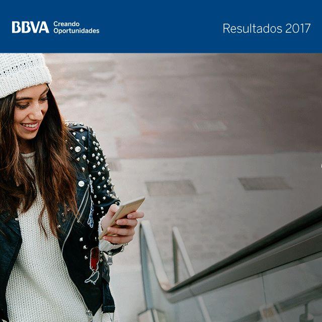 Resultados BBVA 4T17 - Clientes digitales y móviles