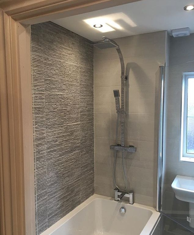 Stratum Feature Wall Tile For The Home Pinterest Wall Tiles Walls And Grey Bathrooms