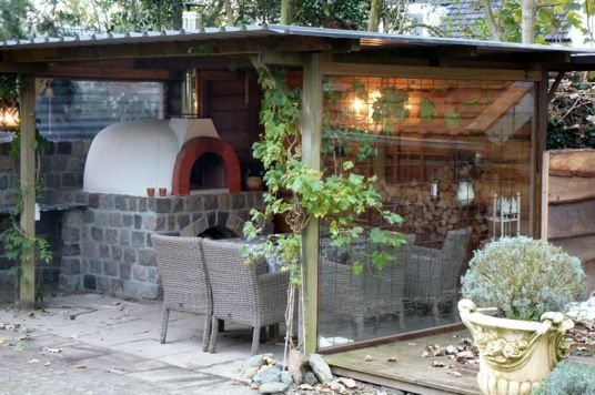 Sfeervolle Italiaanse pizzaoven in Friesland