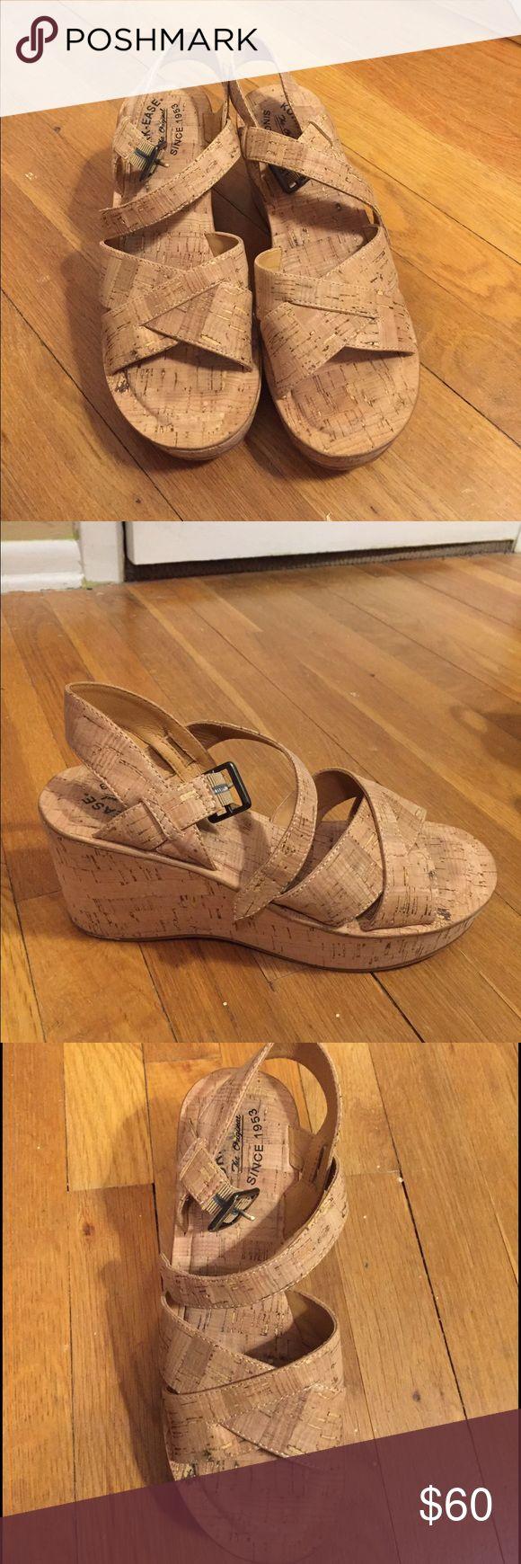 Selling this Kork Ease Ava Natural Cork Wedges on Poshmark! My username is: jenglickman. #shopmycloset #poshmark #fashion #shopping #style #forsale #Kork Ease #Shoes
