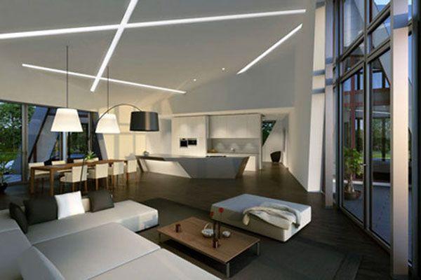 Картинки по запросу потолок в стиле хай тек