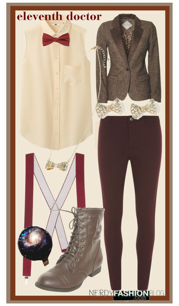 Eleventh Doctor | Doctor Who [Inspired Set] by chelsealauren10   This is an example of a not-incredibly-subtle-but-subtle-enough set that a...