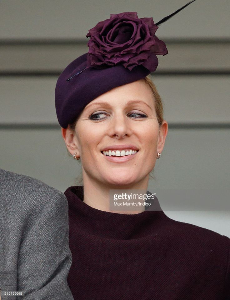 (EMBARGOED FOR PUBLICATION IN UK NEWSPAPERS UNTIL 48 HOURS AFTER CREATE DATE AND TIME) Zara Phillips watches the racing as she attends day 1 of the Cheltenham Festival on March 15, 2016 in Cheltenham, England. (Photo by Max Mumby/Indigo/Getty Images)