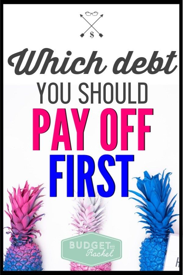 Which Debt You Should Be Paying Off First
