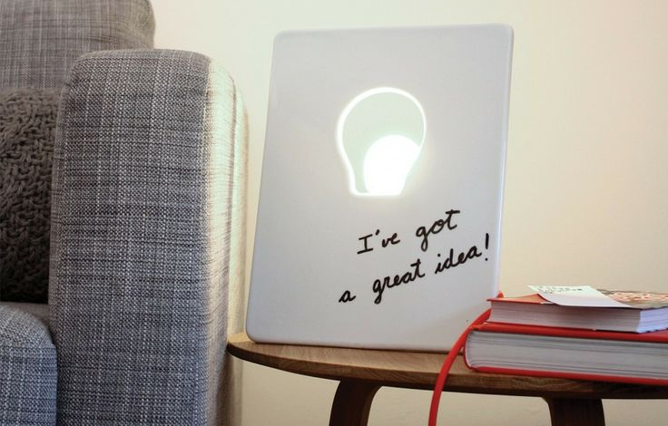 Dry erase whiteboard lamp it 39 s like a lamp you can draw for Cool stuff to draw on a whiteboard