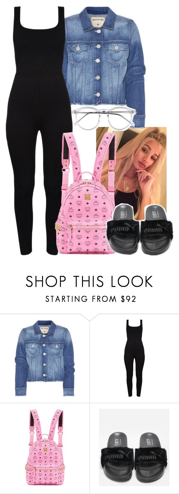 """Told You- Famous Dex"" by ssophiiia ❤ liked on Polyvore featuring True Religion, MCM and Wildfox"