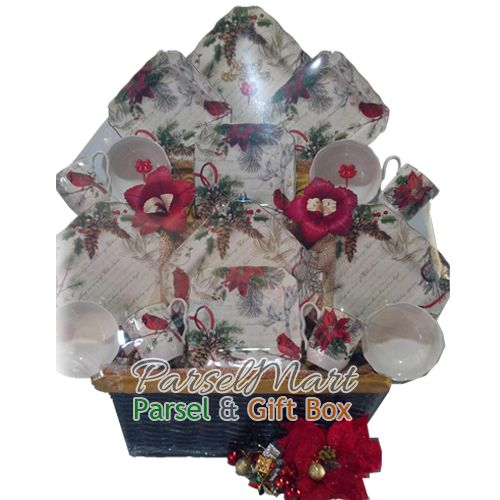 Beatiful Christmas Hamper delivery to Indonesia. IDR 1.450.000  See More products at http://parselmart.com