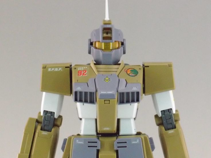 REVIEW: MG 1/100 RGM-79SC GM SNIPER CUSTOM (MS Gundam MSV Series) http://www.gunjap.net/site/?p=328762