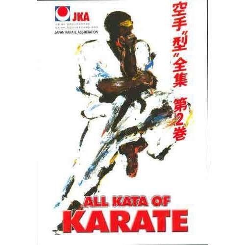 JKA Shotokan Karate Kata #2 DVD International WKF Naka Asai Oishi Imura Abe