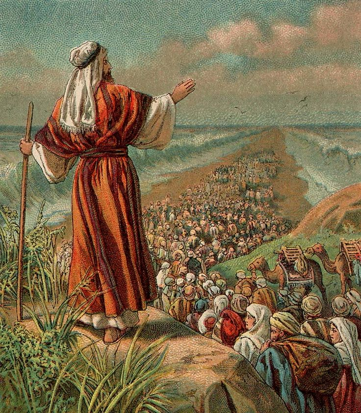 33 best bible study prints images on pinterest bible pictures moses parts the red sea credit providence lithograph company fandeluxe Image collections