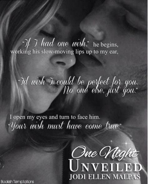 One Night Unveiled by Jodi Ellen Malpas