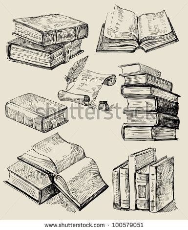 yep. next tiny tattoo! http://www.shutterstock.com/pic-100579051/stock-vector-books-stack.html#