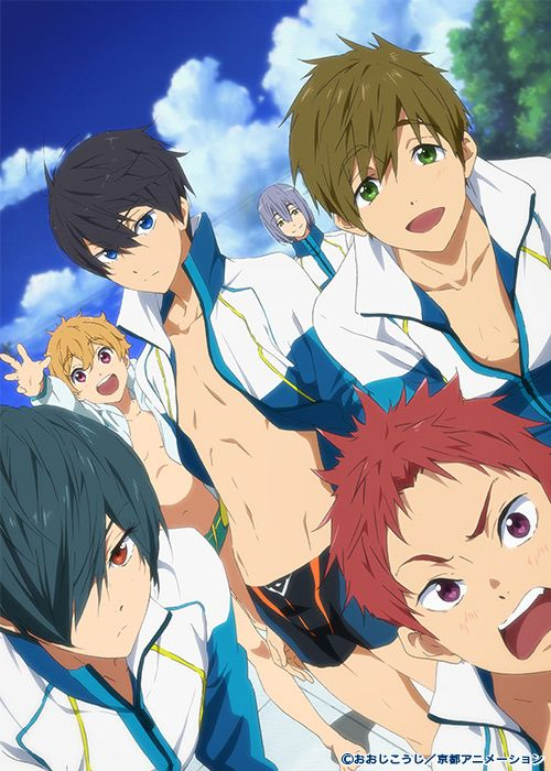 High Speed! - Free! Starting Days is a movie set to be released soon!