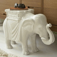 Elephant table - an homage to the mover of obstacles!