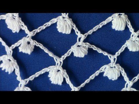 Irish Crochet Basics, The Clones Knot ground - YouTube