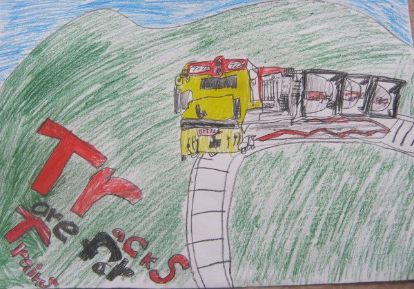 Most children in the Canterbury town of Waipara cross railway tracks on their way to and from school each day. As a consequence, Waipara School ran a series of lessons in which children learned about staying safe next to rail.