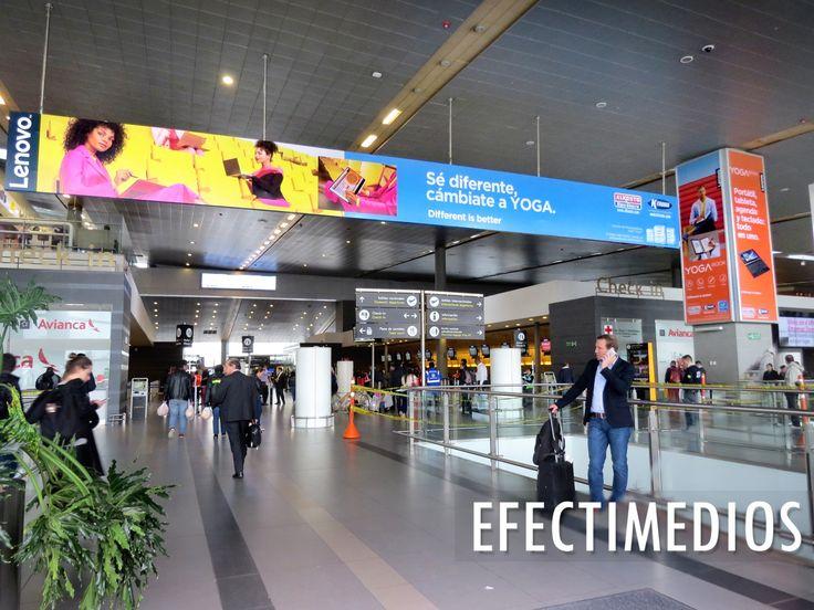 Se estima que el crecimiento del flujo de pasajeros en el Aeropuerto El Dorado, aumente un 10% cada año, llegando a los 59 millones de viajeros en el año 2021 #ideasefectivas