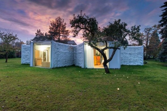 Chameleon house - Petr Hájek Architekti