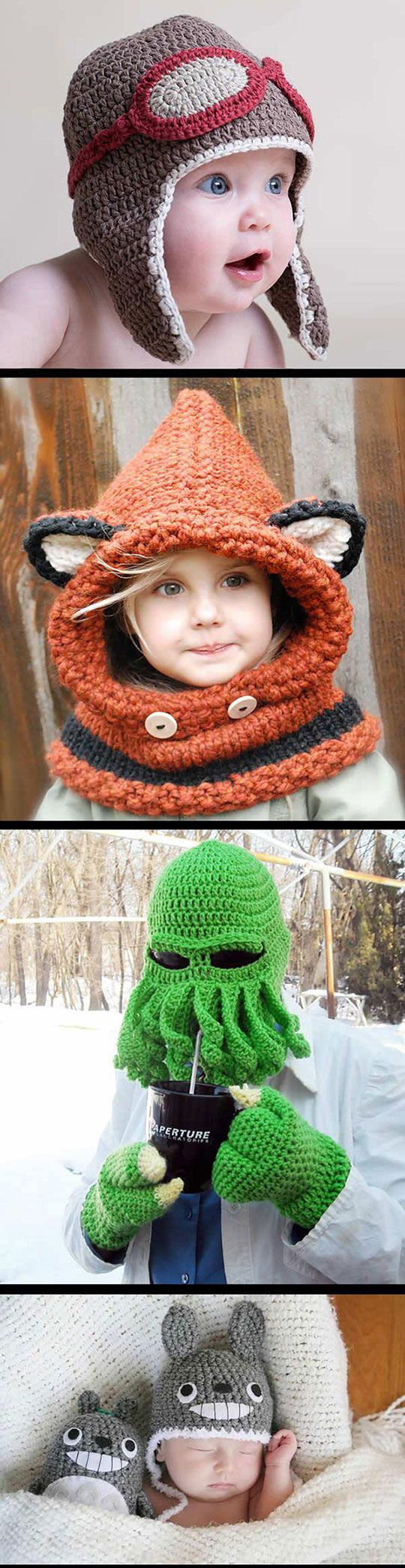 25 Cool Winter Hats That Will Keep You Warm. Makes me wish I knew how to knit or crochet!