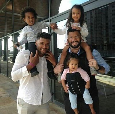 Russell Wilson and baby Future hang out with Russell's brother and kids - http://www.thelivefeeds.com/russell-wilson-and-baby-future-hang-out-with-russells-brother-and-kids-2/