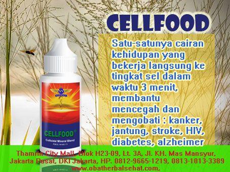 """""""cellfood produk obat herbal kanker payudara"""""""