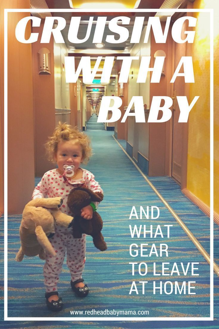 Cruising with a Baby - what gear to bring and what gear to leave at home... | http://Redheadbabymama.com sponsored by Carnival Cruise Lines