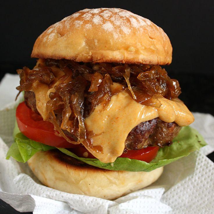 cheeseburger recipe | Jamie Oliver's Botham Burger Recipe ~