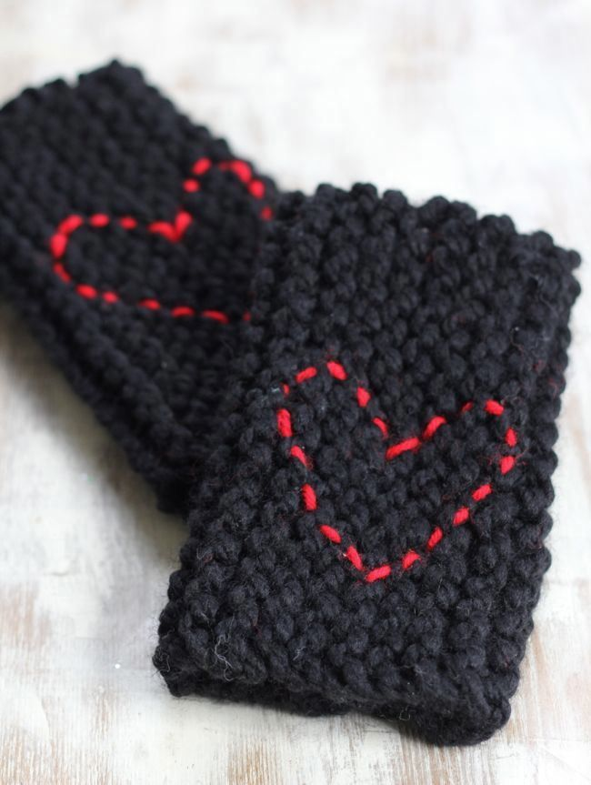 DIY Fingerless Gloves Knitting Tutorial