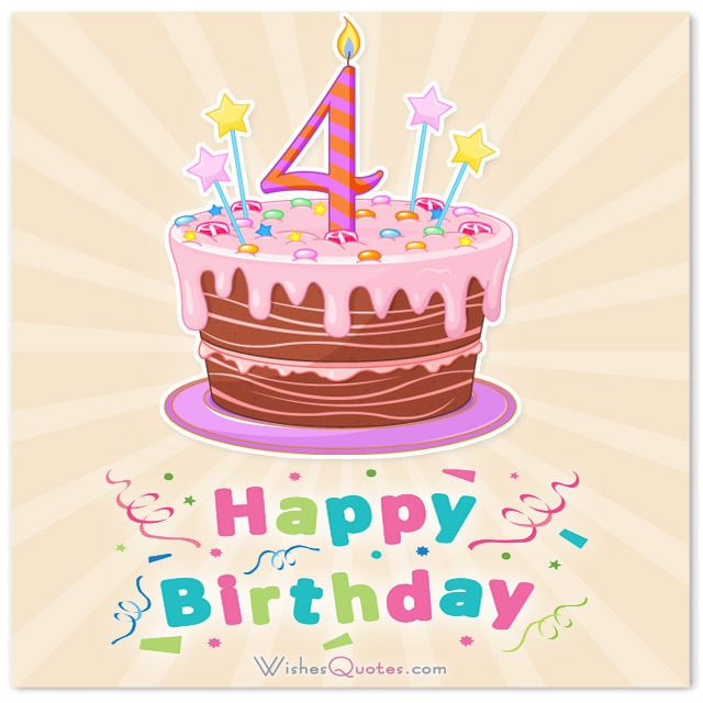 Birthday Wishes For Kids Turning 4 ~ Best happy birthday images on pinterest bear card and bears