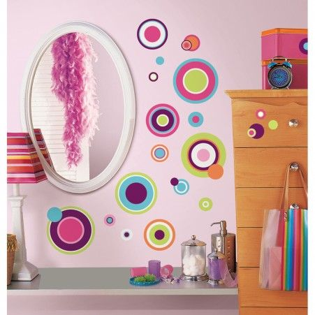 Crazy Dots Wall Decals | RoomMates Peel And Stick Décor