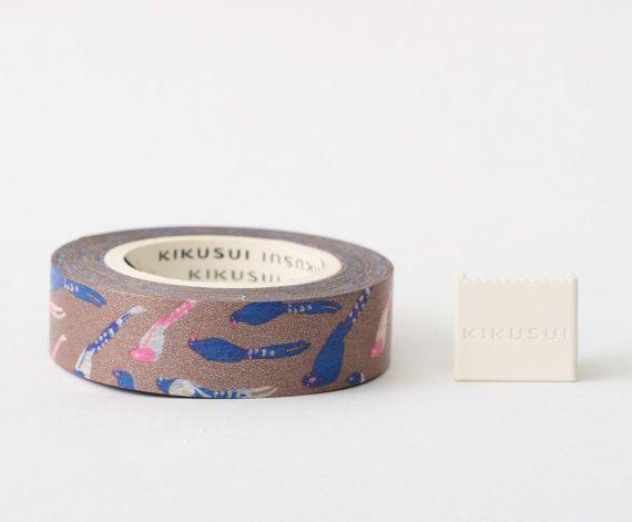 KIKUSUI Story Tape  Images of Taiwan Series / Blue by Vespapel, $9.50