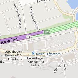 Hotels Near Copenhagen Airport Hotel Location At Terminal 3 Maps