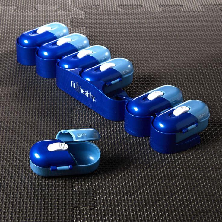 Portable Pill Organizer Pod Containers