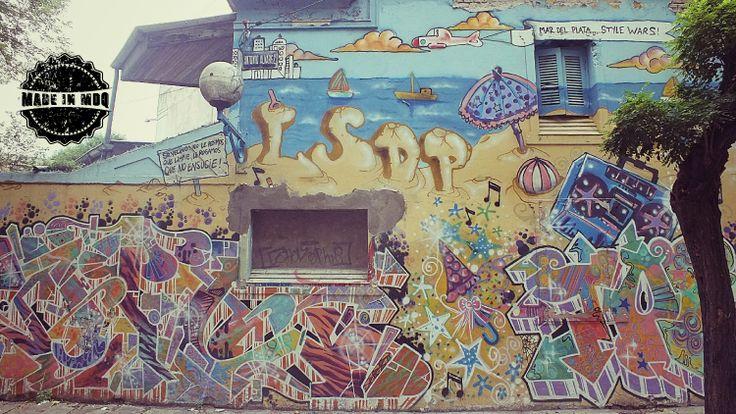 Mar del Plata... style wars! #ArteCallejero #MadeInMDQ #MardelPlata #MDQ #StreetArt