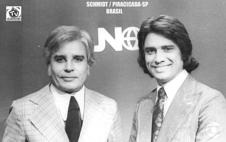 JORNAL NACIONAL - ANOS 70 / CID MOREIRA E SÉRGIO CHAPELIN (TV GLOBO)