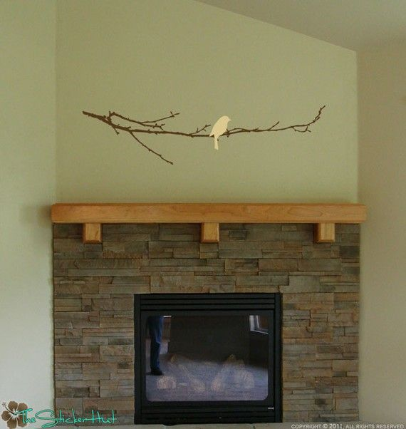 arts and letters bare branch with bird home decor ideas wall letters 1082