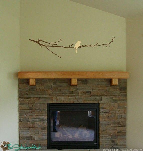 Creative Ideas For Branches As Home Decor: Bare Branch With Bird