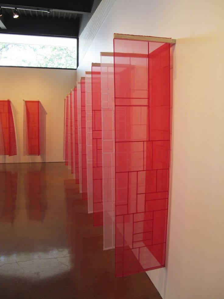 Pojagi installation by Eun-Kyung Suh