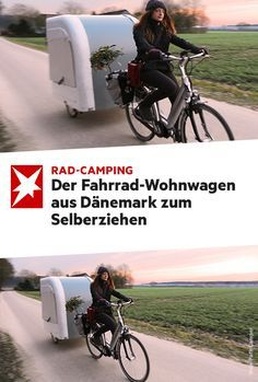 Der Fahrrad-Wohnwagen aus Dänemark zum Selberziehen
