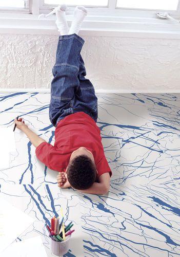 Wandmontage-Fliese / Boden / Feinsteinzeug / Matte ARTWORK marble ORNAMENTA