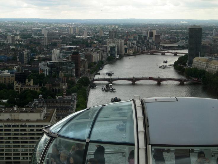 London Eye's view